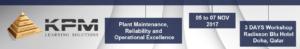 CMRP Doha Event KPM